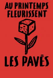 """GALERIE TREIZE-DIX I HUBERT POIROT-BOURDAIN """" AU PRINTEMPS FLEURISSENT LES PAVÉS"""""""