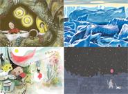 Quatre illustrateurs au Seuil Jeunesse FANNY DUCASSÉ, CLÉMENCE MONNET, LUCILE PIKETTY, NICOLAS ZOULIAMIS