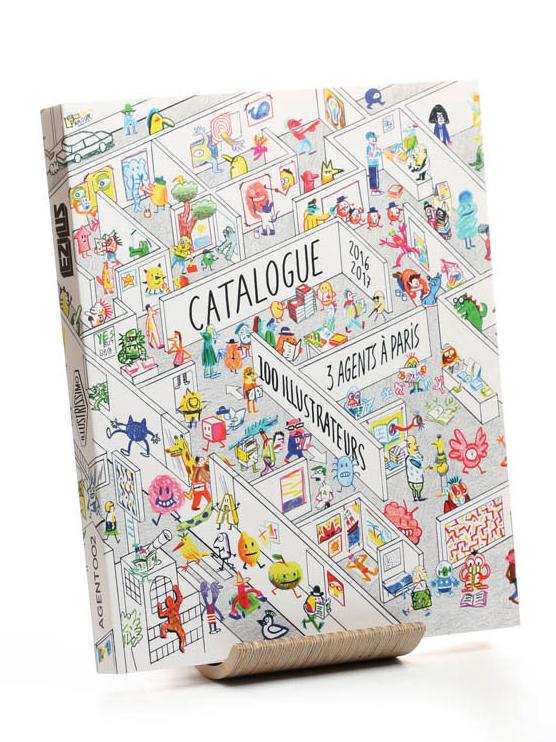 3 agents à paris, 100 illustrateurs | Disponible sur demande