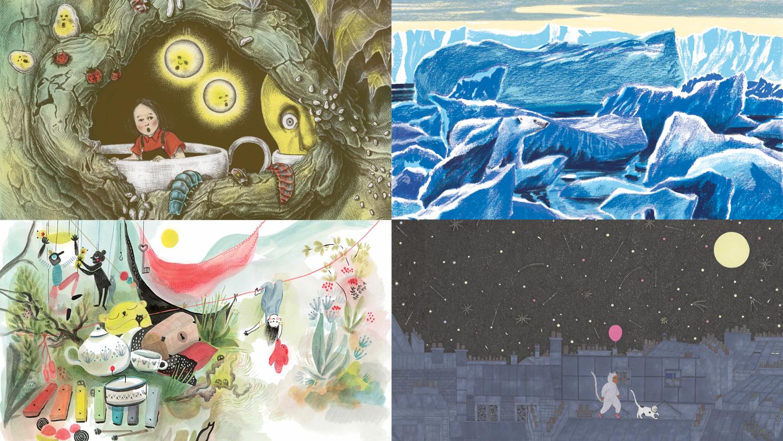 La galerie Michel Lagarde et les éditions du Seuil Jeunesse vous invitent à l'exposition de quatre illustrateurs : FANNY DUCASSÉ, CLÉMENCE MONNET, LUCILE PIKETTY, NICOLAS ZOULIAMIS |