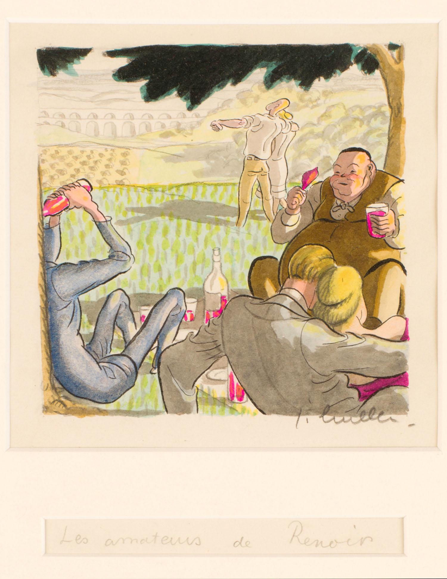 Jean Bruller | Jean Bruller | Les amateurs de Renoir