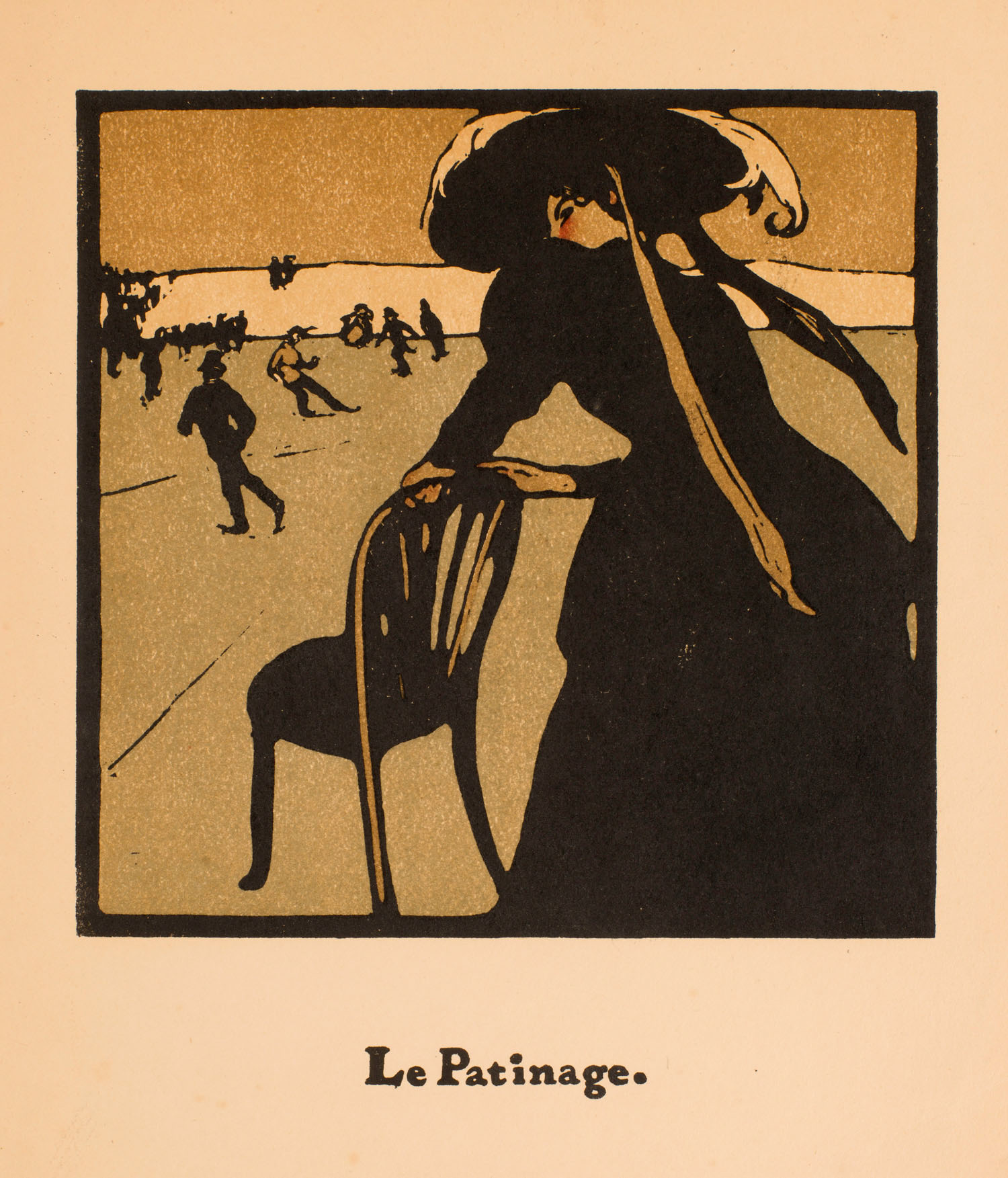 William Nicholson | William Nicholson | Le Patinage