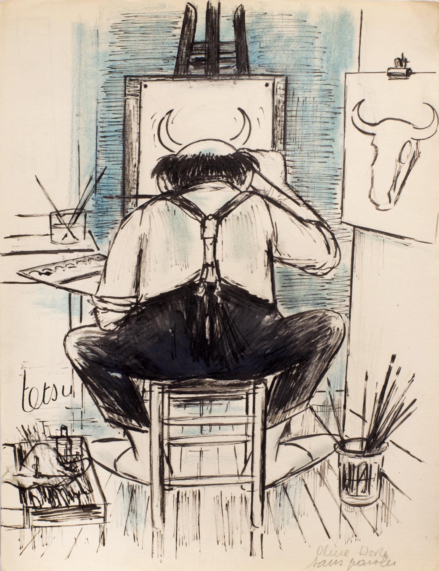 Le peintre | Le peintre | Atelier Tetsu