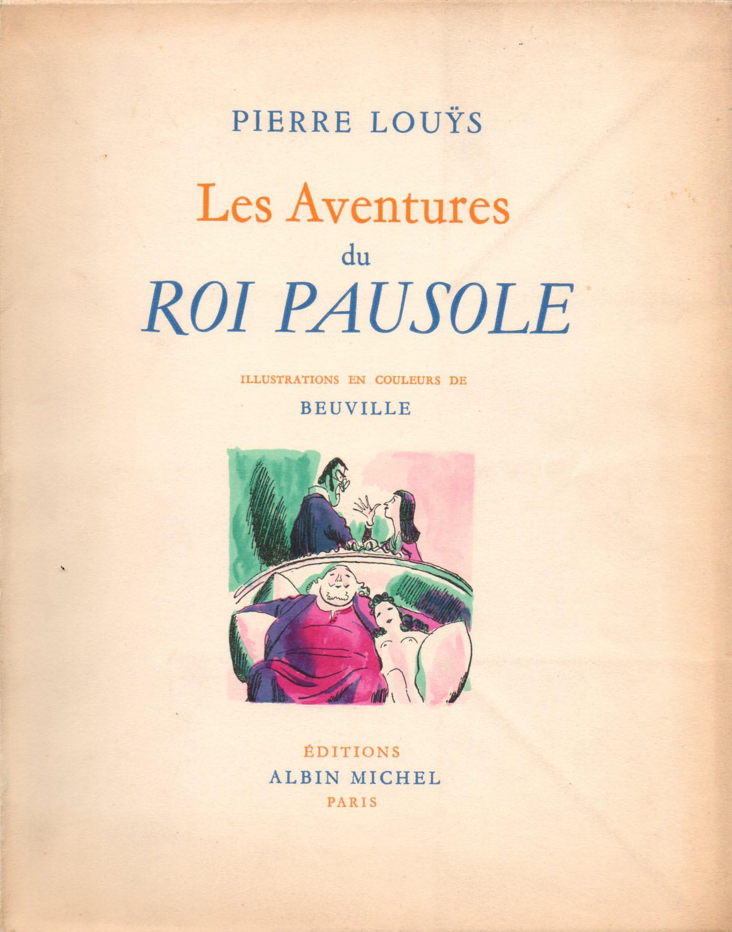 Les aventures du roi Pausole | Georges Beuville | Les Aventures du Roi Pausole