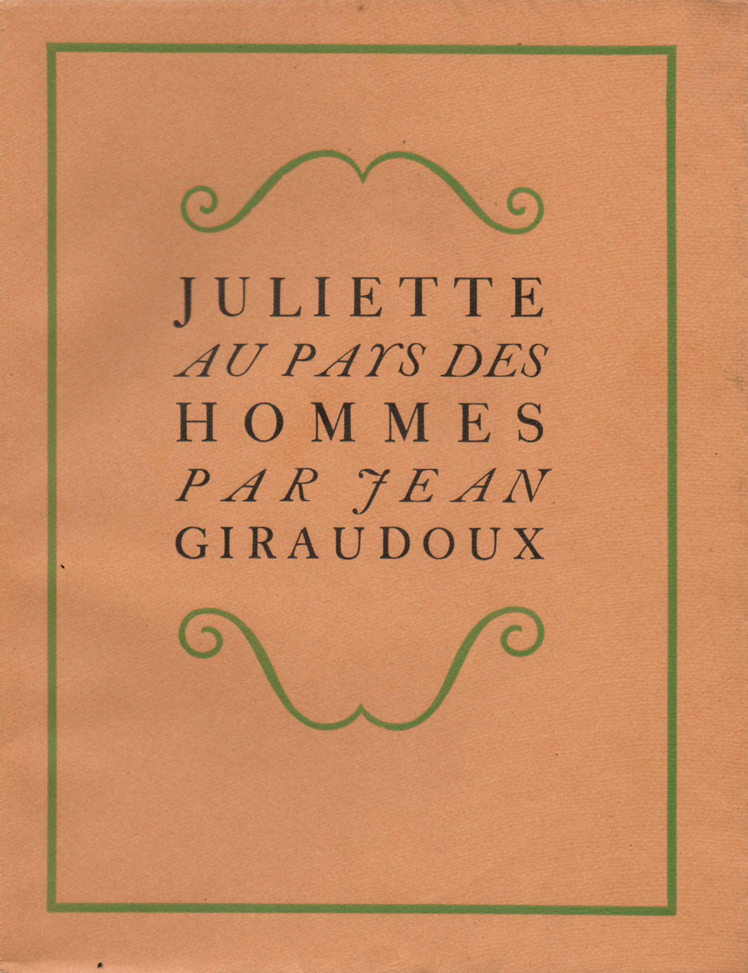Juliette aux pays des hommes | Chas Laborde / Giraudoux | Juliette au pays des hommes