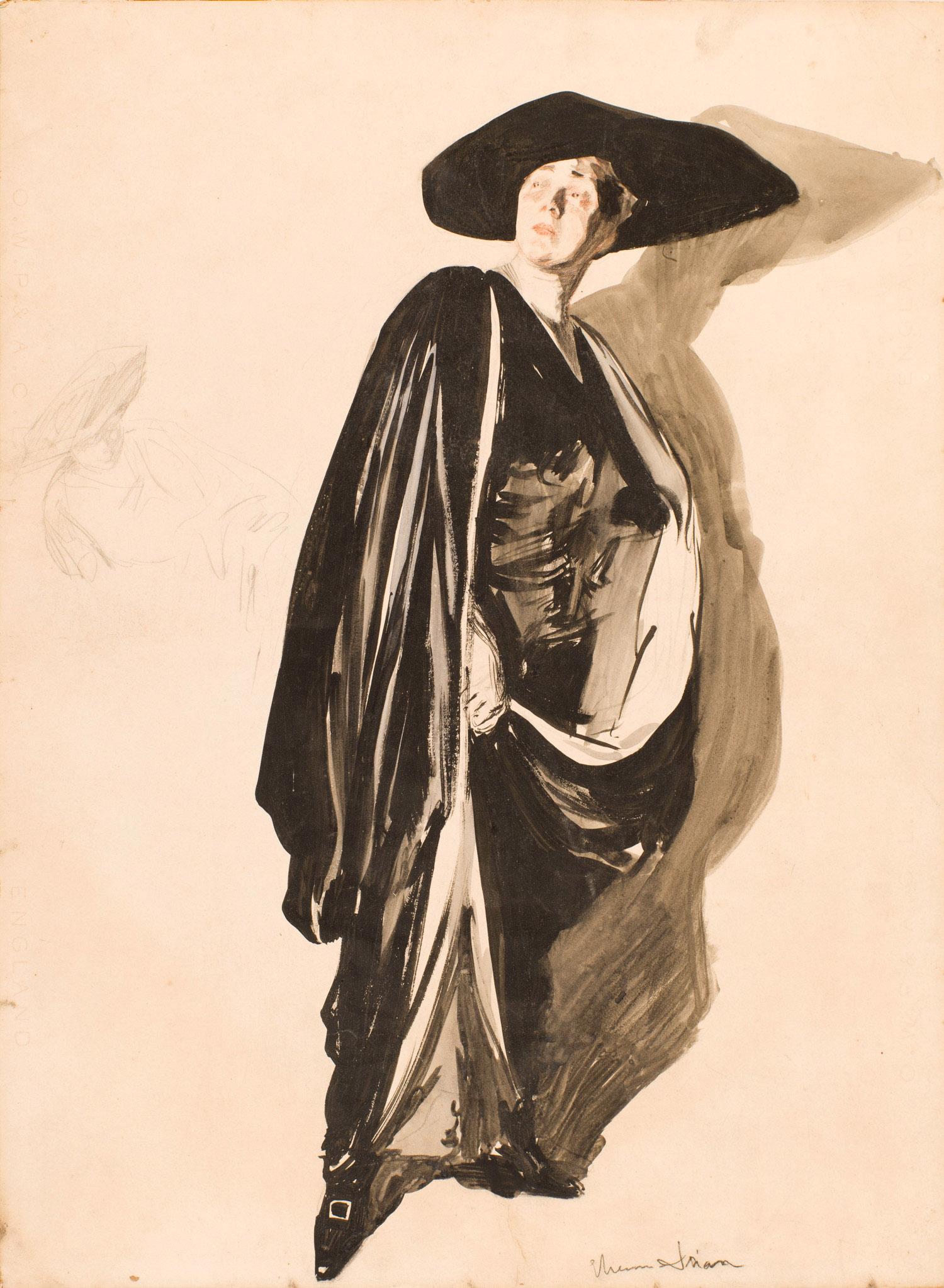 Homme au Chapeau | Etienne Drian |
