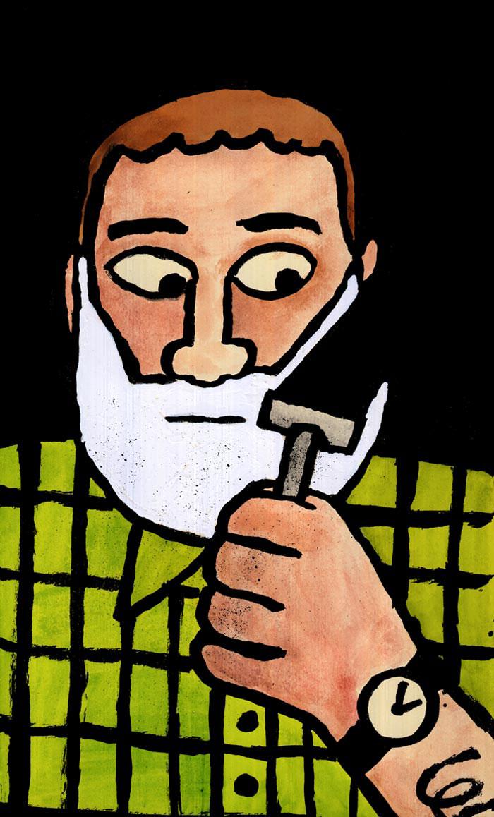 Shave | Jean Jullien | Shave