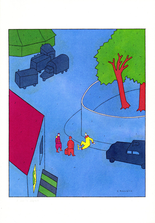 Sur le départ | Lionel Koechlin | Sur le départ