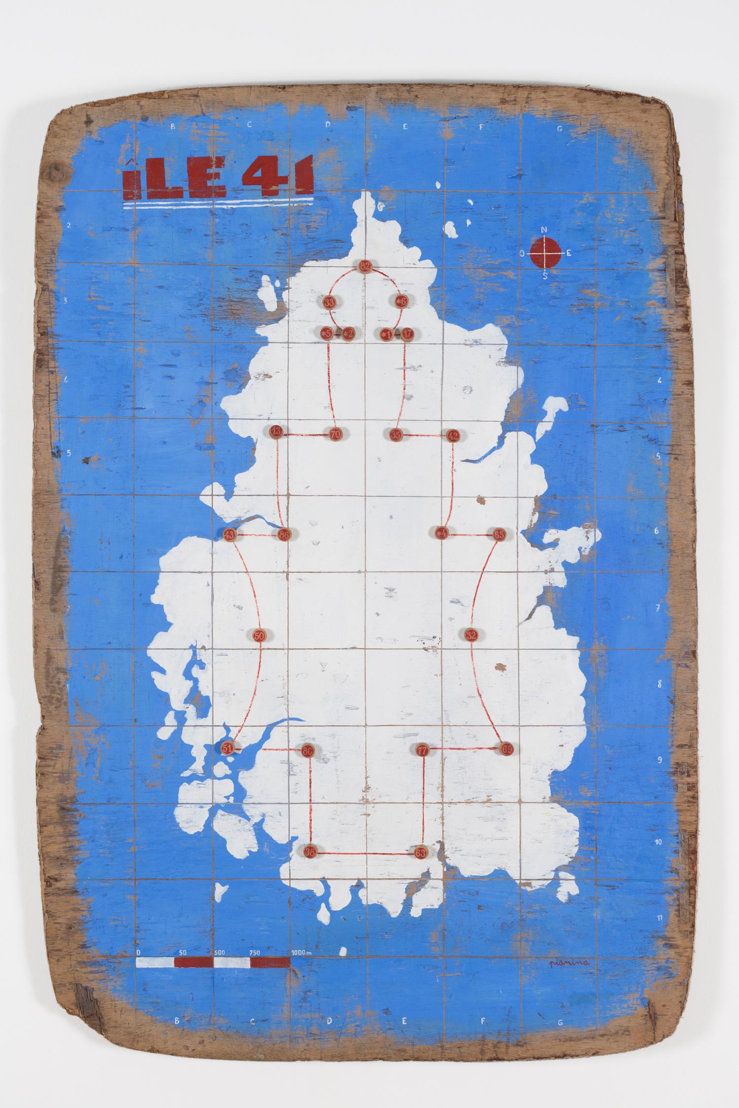 Carte de l'île 41 | Vincent Pianina | Carte de l'île 41