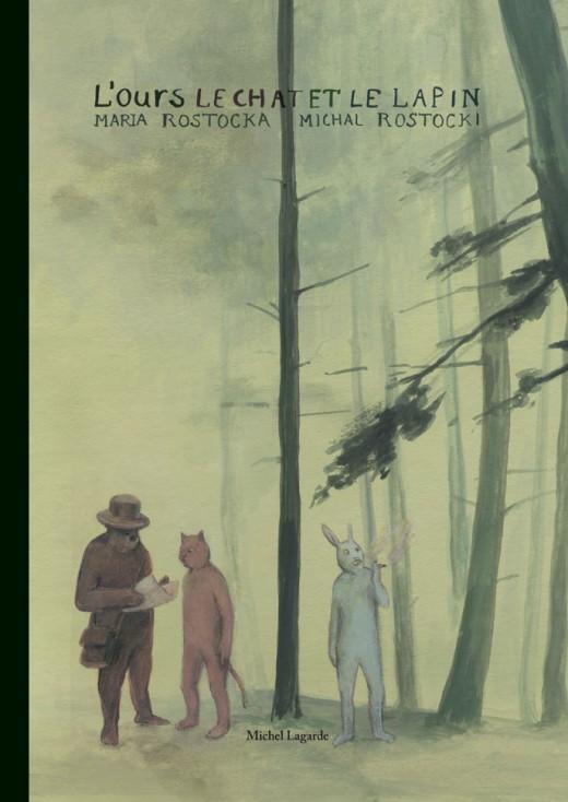 L'ours le chat et le lapin | Bande dessinée | L'ours le chat et le lapin