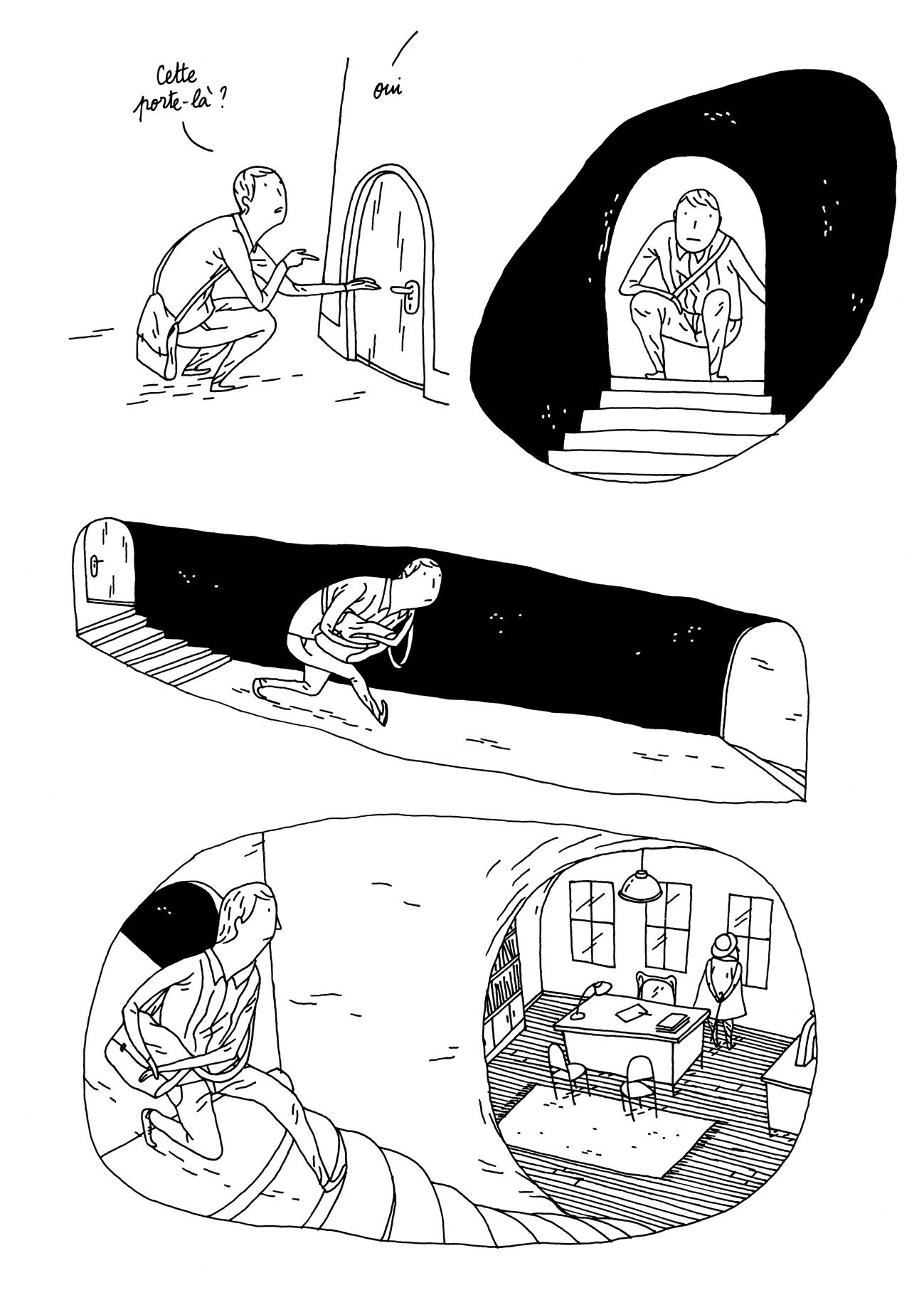 extrait 2   Bande dessinée   Eugène