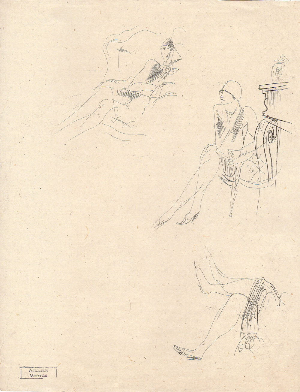 Marcel Vertès | Femmes assises | Marcel Vertès