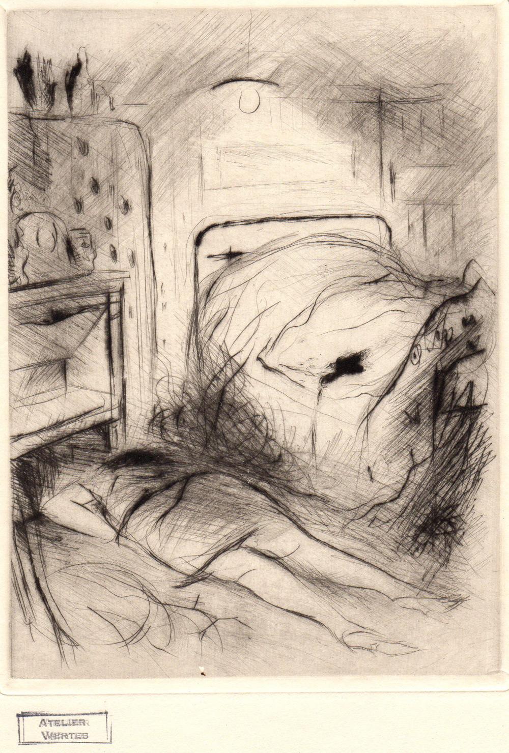 Cadavre au pied du lit | Cadavre au pied du lit | Marcel Vertès