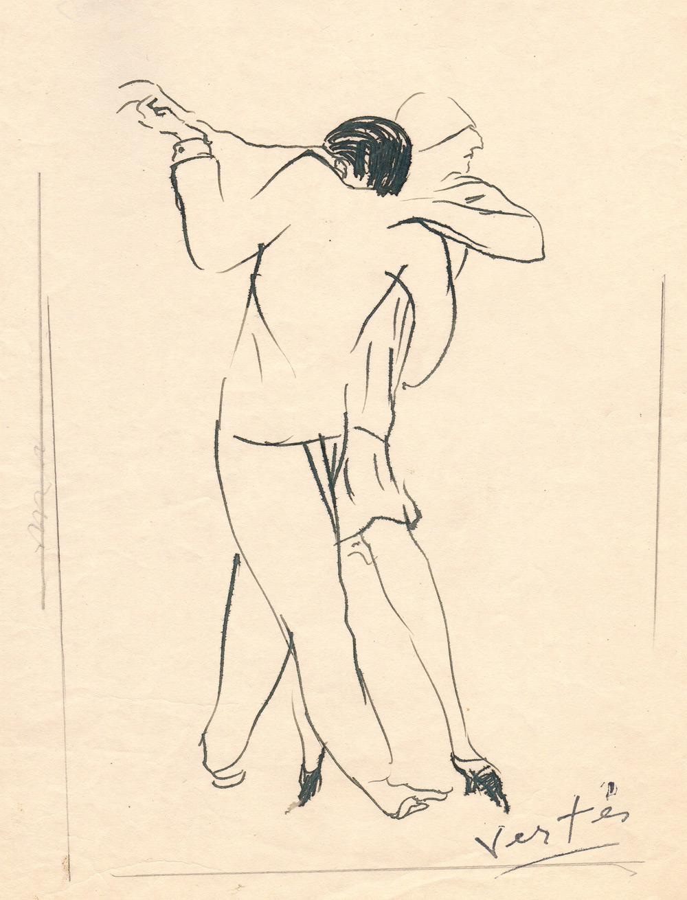 Couple dansant | Couple dansant | Marcel Vertès