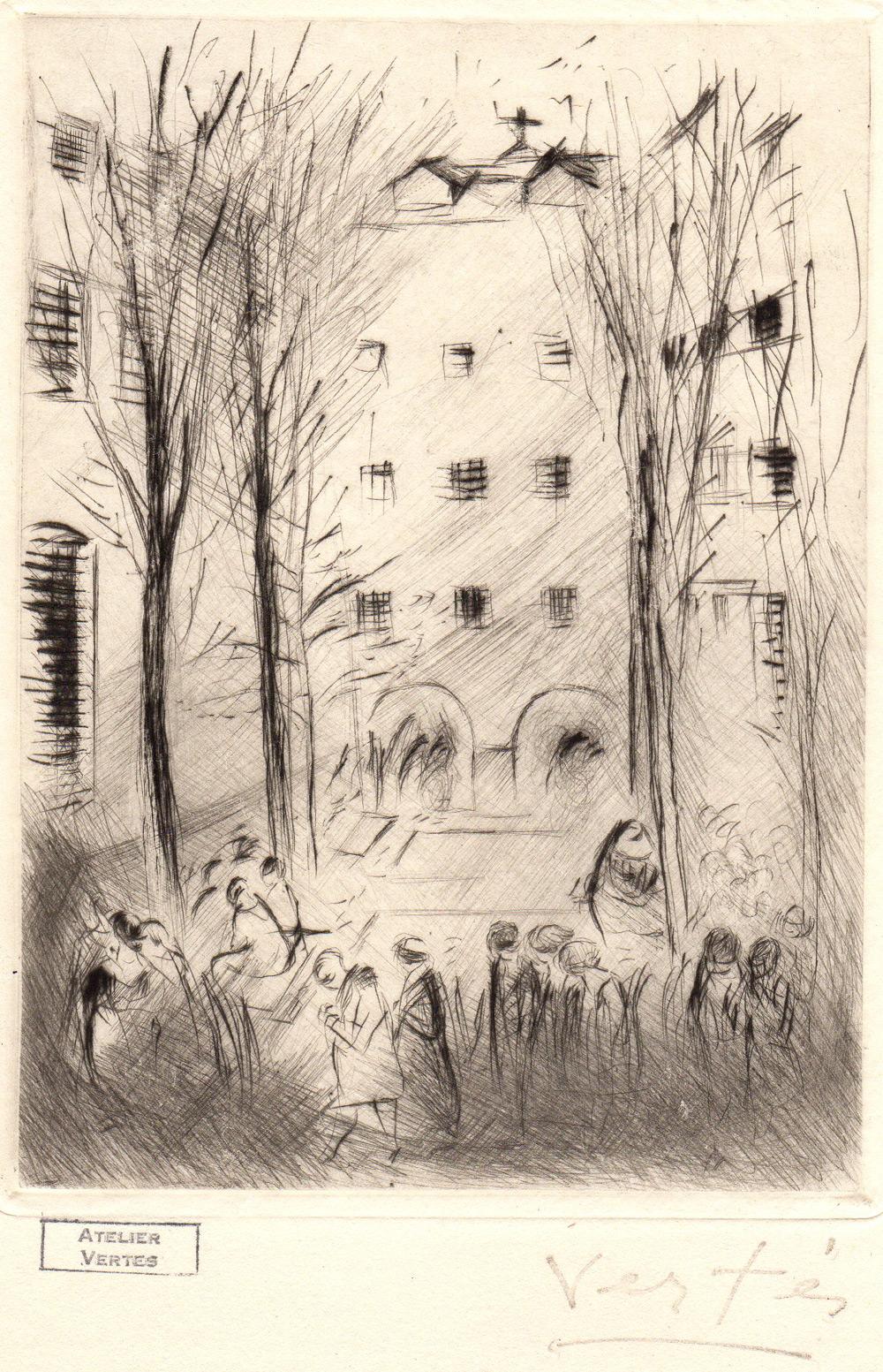 Prison pour femmes de Saint-Lazare | Prison pour femmes de Saint-Lazare | Marcel Vertès