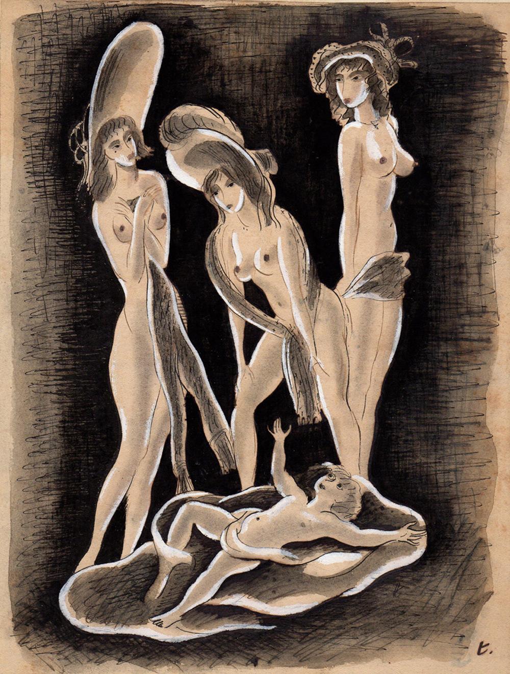 Les trois graces | Touchagues | Les trois graces