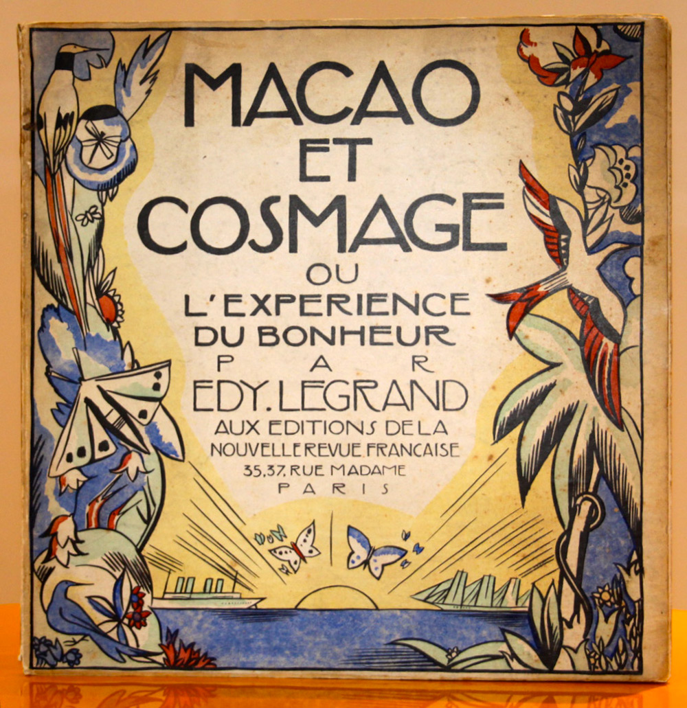 Couverture | Edy Legrand (Édouard-Léon-Louis Legrand dit) | Macao et Cosmage ou l'expérience du bonheur