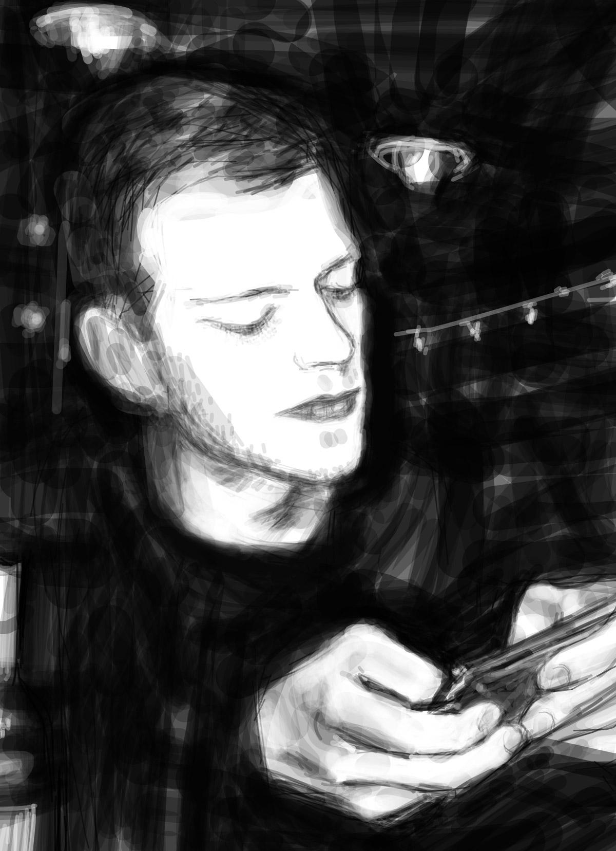 Antoine | Antoine | portrait réalisé sur Iphone