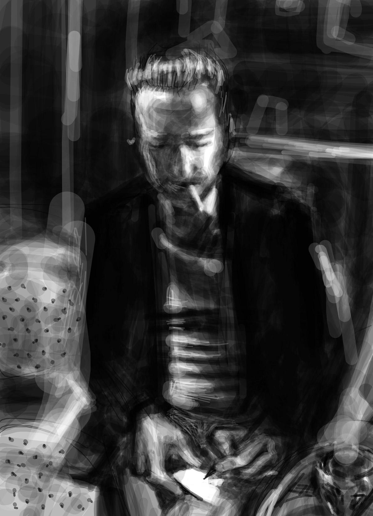 Eric | Eric | portrait réalisé sur Iphone