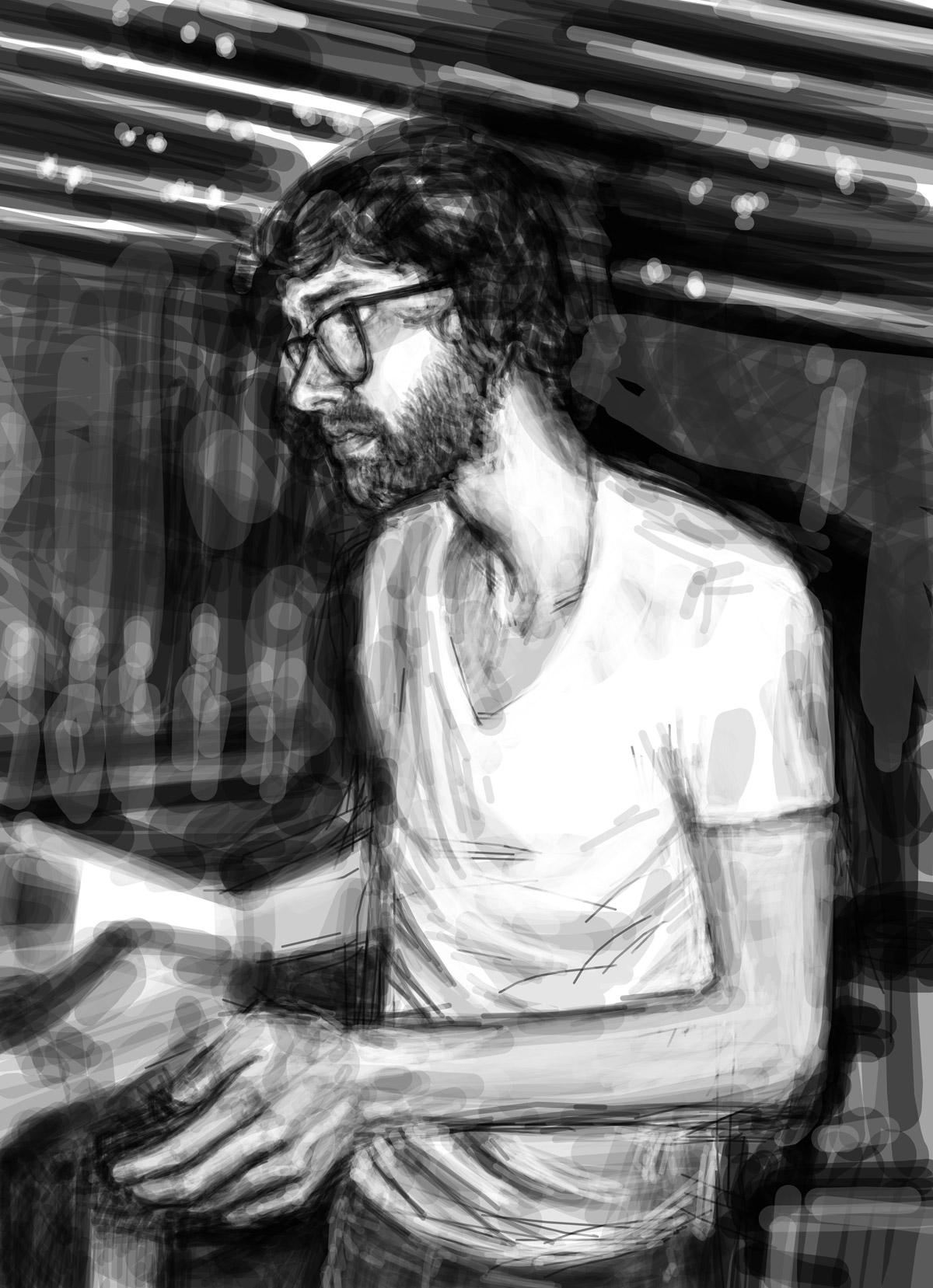 Josh | Josh | portrait réalisé sur Iphone