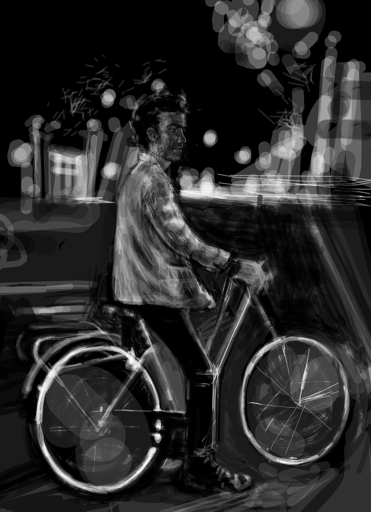 Marin sur les Grands Boulevards | Marin sur les Grands Boulevards | portrait réalisé sur Iphone
