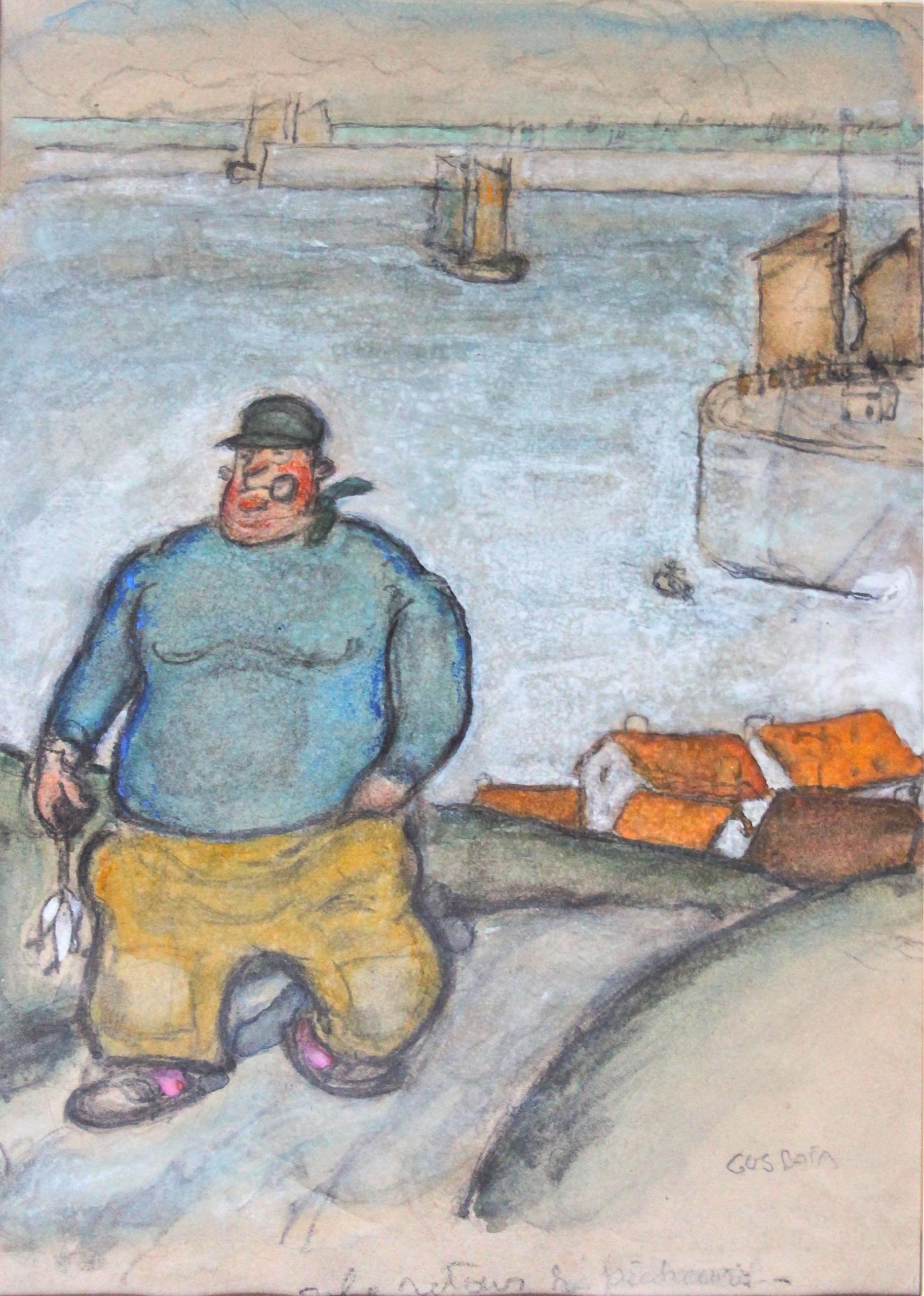 Le retour du pêcheur | Gus Bofa | Le retour du pêcheur