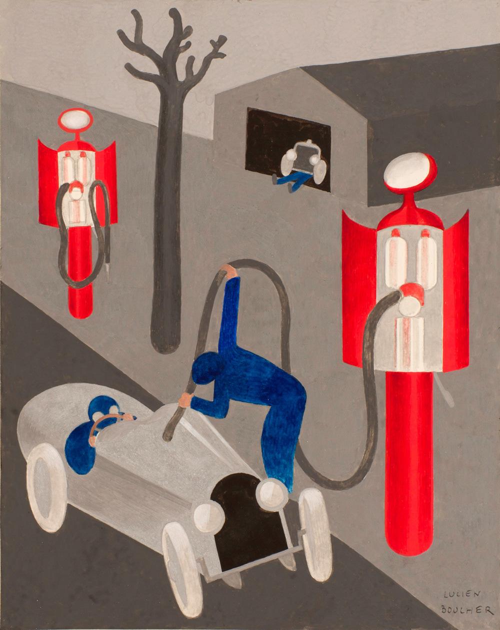 Pompistes | Lucien Boucher | Pompistes