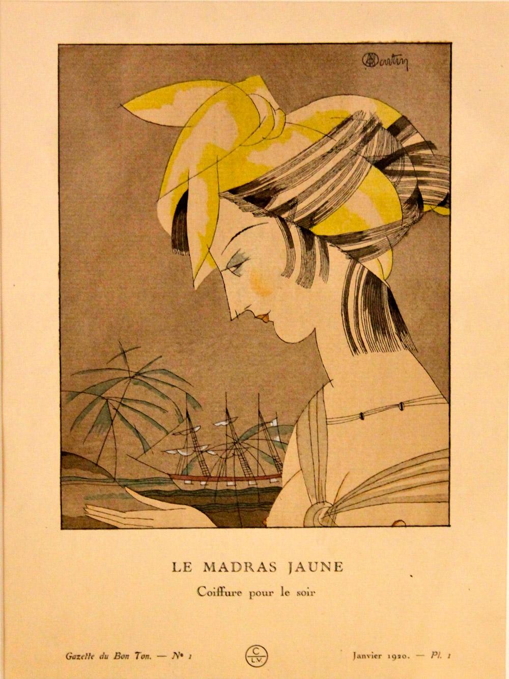 Coiffure pour le soir | Charles Martin | Le madras jaune