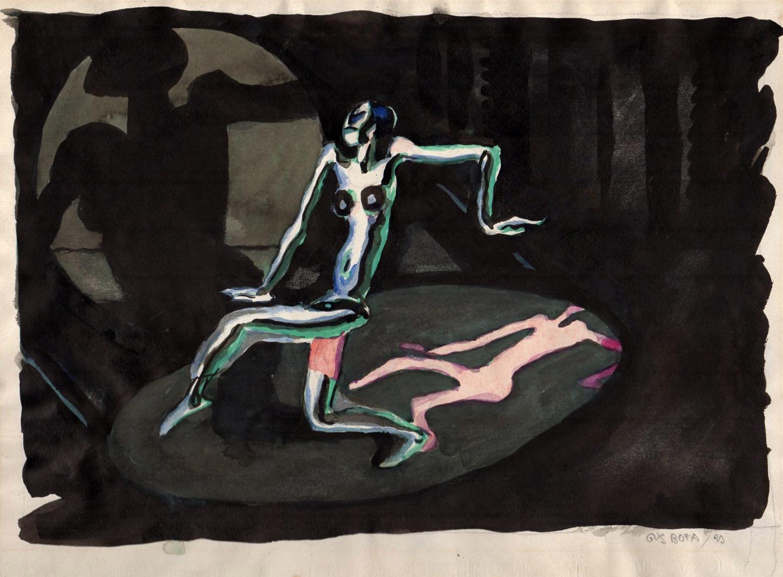 La danseuse pentagone | Gus Bofa | La danseuse pentagone