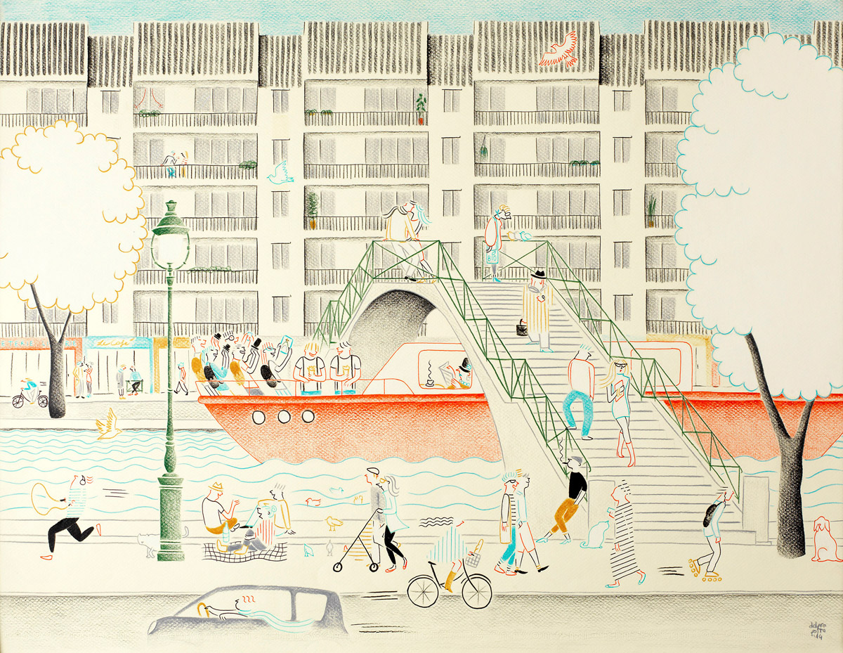 nouvelle image | Federica Del Proposto | Le Canal Saint-Martin