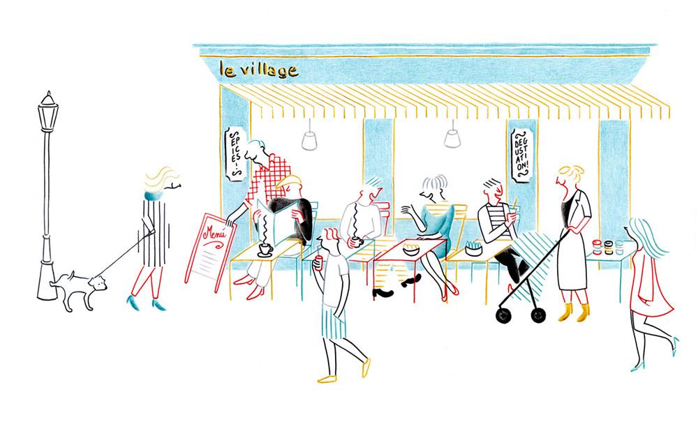 Le Village | Federica Del Proposto | Le Village