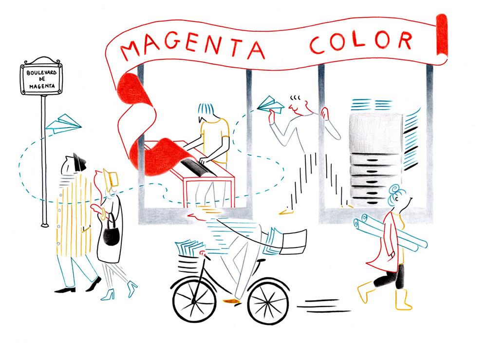 nouvelle image | Federica Del Proposto | Magenta Color
