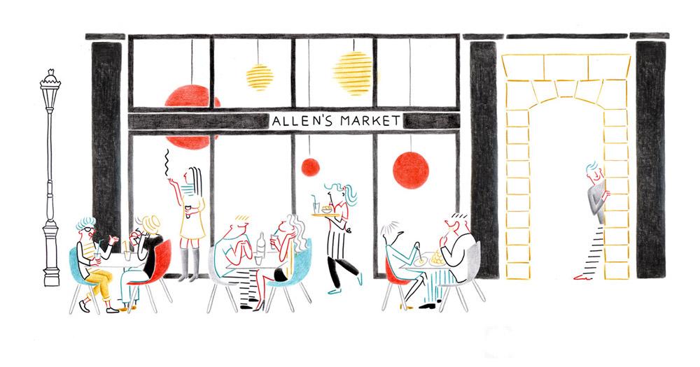 Allen's Market | Federica Del Proposto | Allen's Market