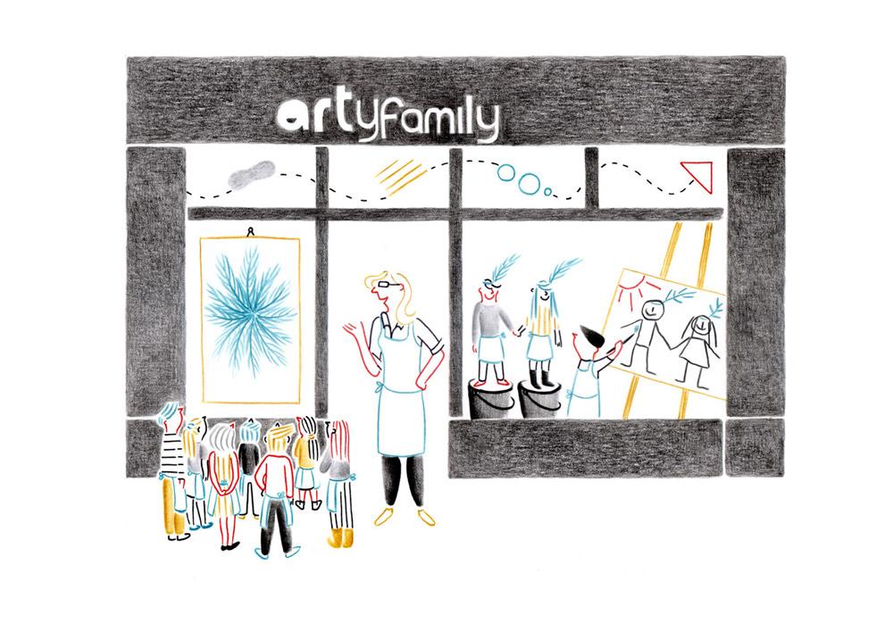 Arty Family | Federica Del Proposto | Arty Family