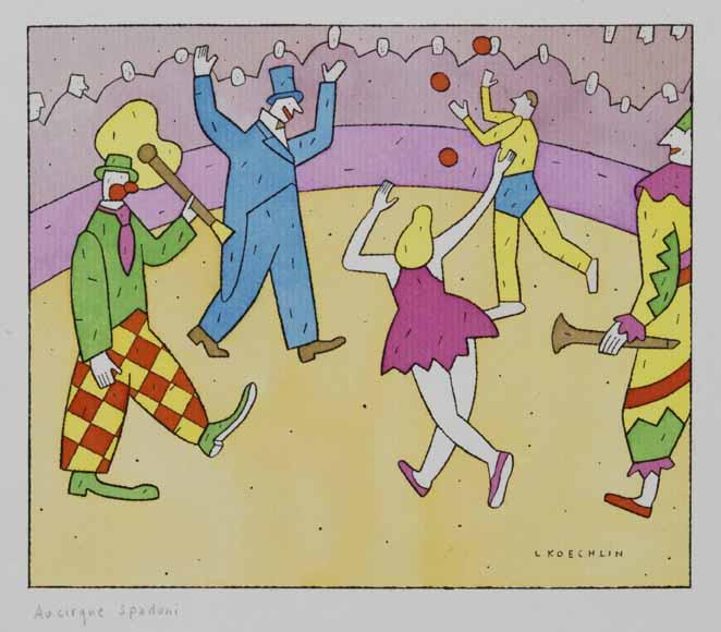 Lionel Koechlin | Au cirque Spadoni |