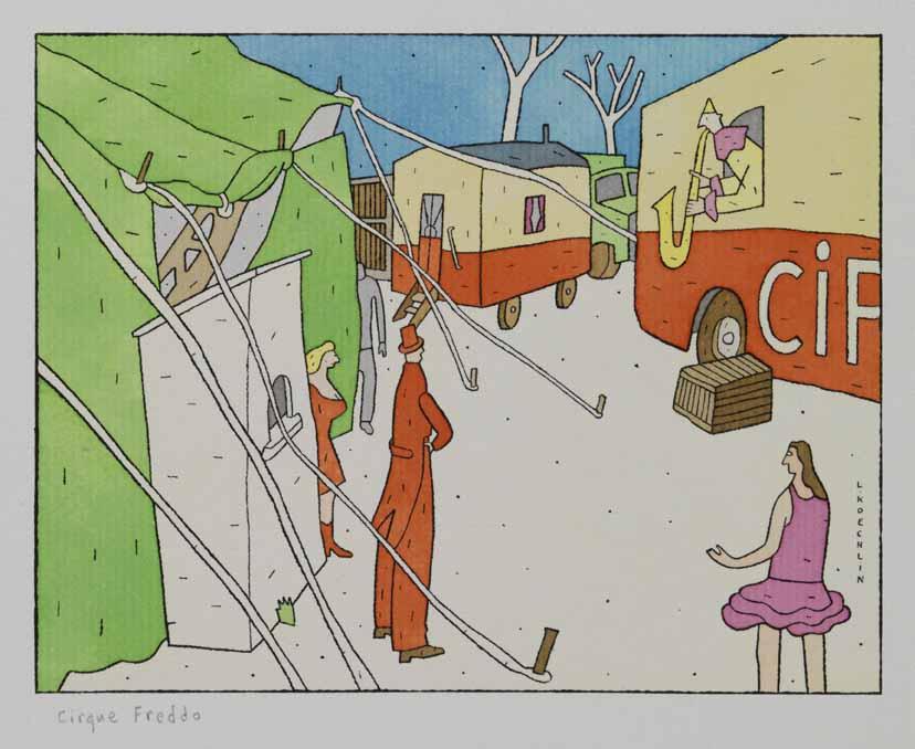Lionel Koechlin | Cirque Freddo |