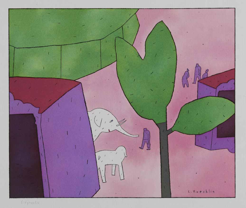 Lionel Koechlin | Eléphants |