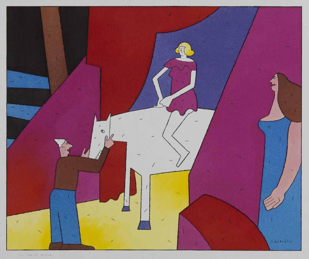 Lionel Koechlin | Le cheval blanc |