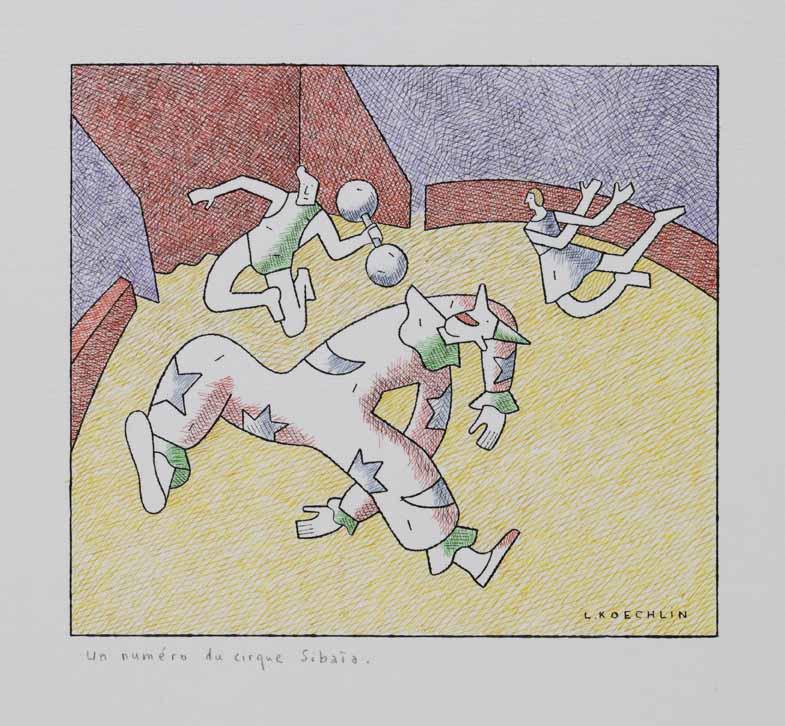 Lionel Koechlin | Un numéro du cirque Sibaïa |