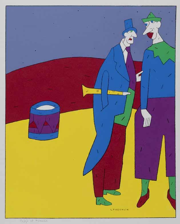Lionel Koechlin | Pajojo et Momoche |