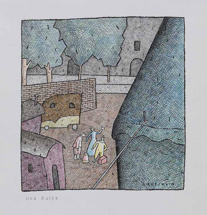 Lionel Koechlin | Une halte |