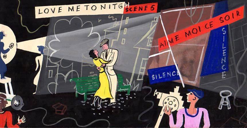 Jacques Grange | Love me - Scene 5 |
