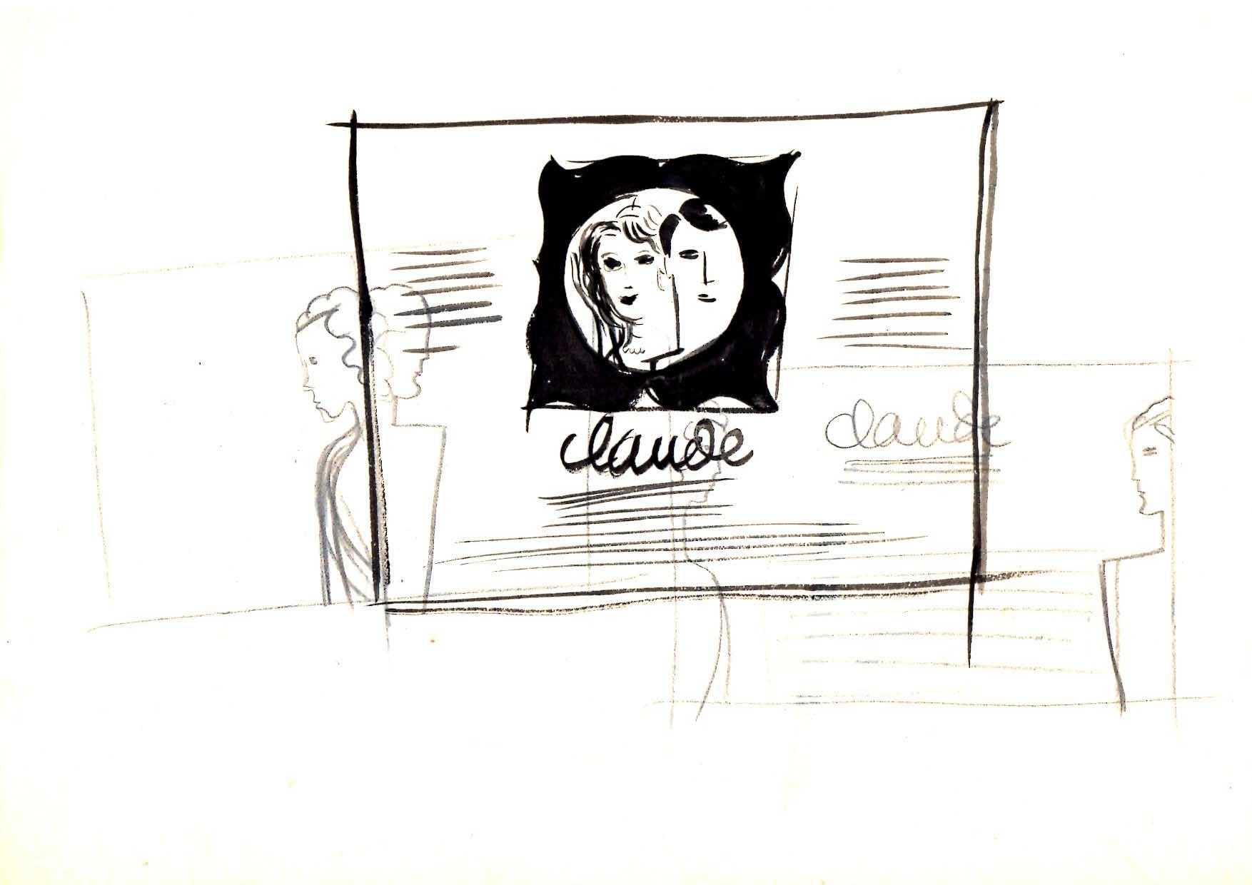 Jacques Grange | Claude Claude |
