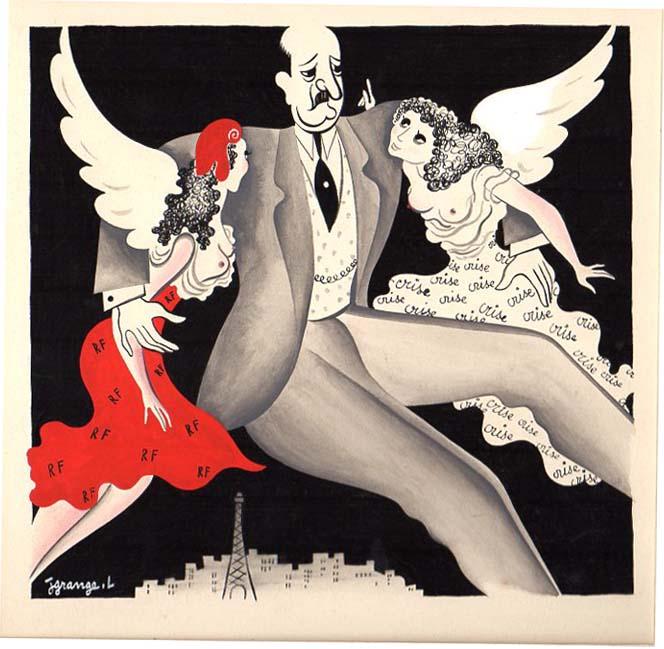 Jacques Grange | Les anges de la république |
