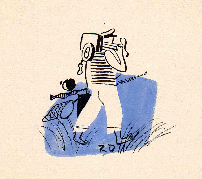 Roger Duvoisin | Roger Duvoisin | Départ pour la pêche