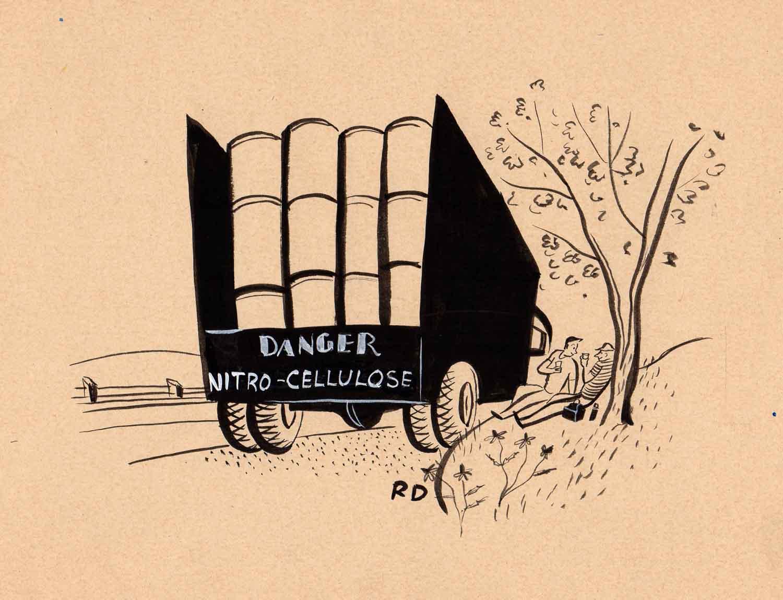 Roger Duvoisin | Roger Duvoisin | Danger Nitrocellulose