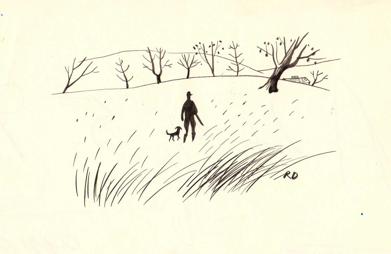Roger Duvoisin | Roger Duvoisin | Un chasseur