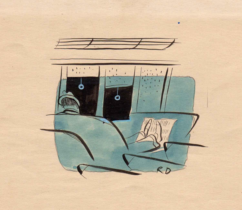 Roger Duvoisin | Roger Duvoisin | Voyage en train