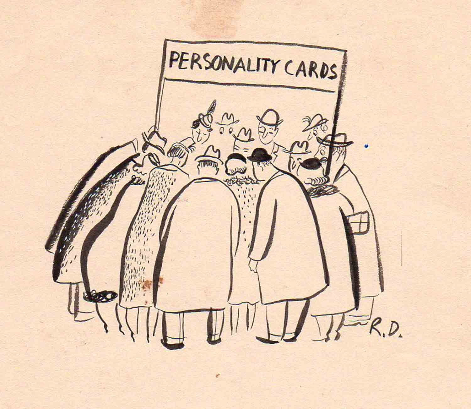 nouvelle acquisition | Roger Duvoisin | Personality Cards