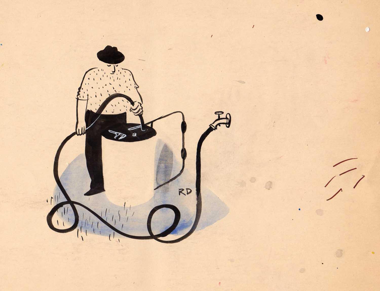 Roger Duvoisin | Roger Duvoisin | L'arroseur